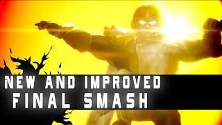 What Captain Falcon's Final Smash SHOULD Have Been – SSB Animation