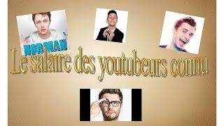 Le salaire des youtubeurs (Cyprien, Squeezie, Norman...) - Replay