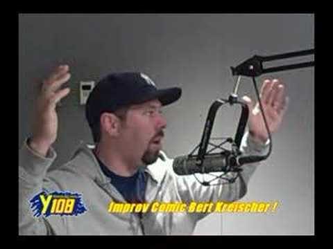 Improv Comic Bert Kreischer on Y108!