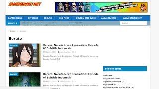 Cara Download Boruto : Naruto Next Generation di Samehadaku Net