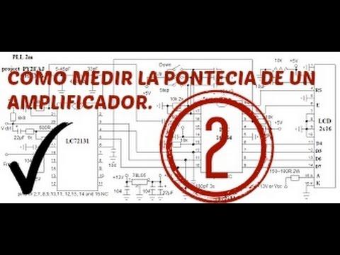 Amplificadores de Potenci - Medición de la potencia de salida de subwoofer de un amplificador de 5 canales Clase D estable a 2 ohms.