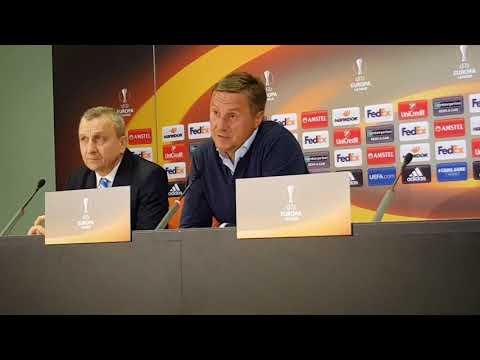 Хацкевич: Цель остается прежней - первое место - DomaVideo.Ru