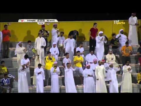 Al Wasl 1 x Sharjah 1 AG League 16 04 2016  Goals