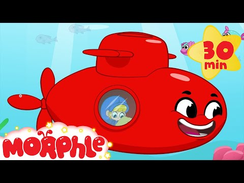 Morphle and the Sea Treasure - Animations For Kids (видео)