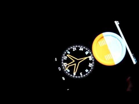 Video of In-flight Instruments