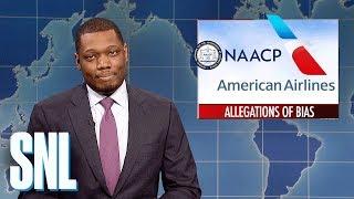 Video Weekend Update on American Airlines' Racial Bias - SNL MP3, 3GP, MP4, WEBM, AVI, FLV Maret 2018