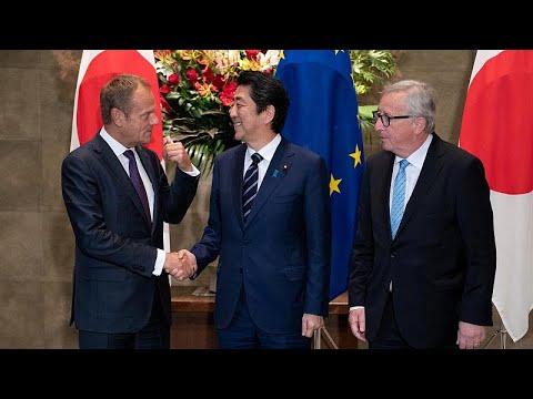 Υπεγράφη η συμφωνία ελεύθερου εμπορίου ανάμεσα σε ΕΕ και Ιαπωνία…