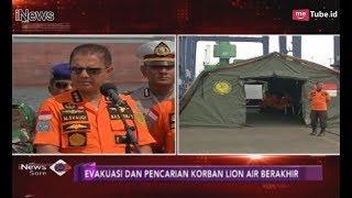 Video Menjelang Akhir Pencarian Korban & Pesawat Lion Air, Basarnas Minta Maaf - iNews Sore 10/11 MP3, 3GP, MP4, WEBM, AVI, FLV Januari 2019