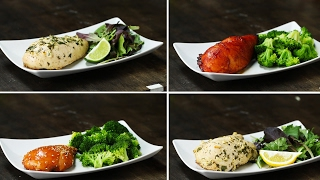 Freezer Pack-Marinated Chicken 4 Ways by Tasty