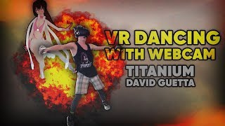 [VRChat] DANCING WITH MY WEBCAM ON (VR Dancing)