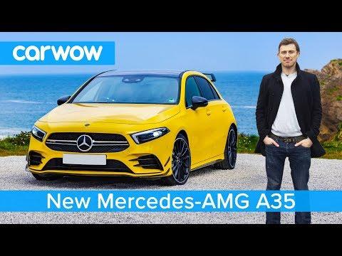 New Mercedes-AMG A35 - better than a VW Golf R and Audi S3?_Autós videók