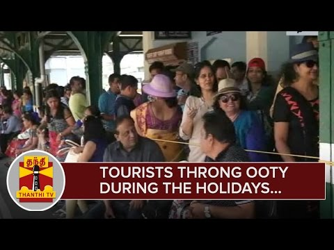 Tourists-throng-Ooty-during-the-Holidays--Thanthi-TV