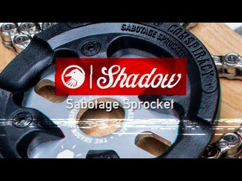 BMX - Shadow Sabotage Sprocket (видео)