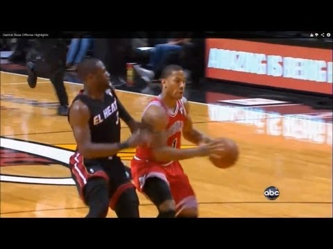 rose - Part 2: http://www.youtube.com/watch?v=i9nlYFrfJCA&feature=youtu.be Derrick Rose's jumpshots, floaters, runners, dunks, crossovers, spin moves, acrobatic fin...