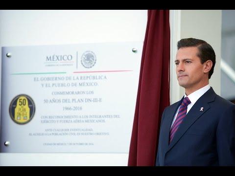 "Ceremonia Conmemorativa del ""50 Aniversario del Plan DN-III-E"""