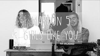 Download Lagu Maroon 5 - Girls Like You ft. Cardi B (Hearts & Colors Cover) Mp3