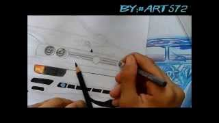 Nonton DRAWING | Desenhando - Volkswagen Jetta mk3 Fast and Furious - L.A Design Crew Film Subtitle Indonesia Streaming Movie Download