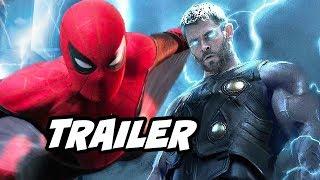 Spider-Man Far From Home Trailer - Thor Avengers Jokes and Sinister Six News Breakdown