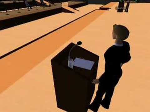 'Marketing versus ICT' in virtueel auditorium op Second Life