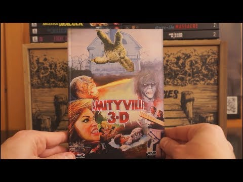 AMITYVILLE 3-D (AT Blu-ray Mediabook Cover E) / Zockis Sammelsurium Nr. 1983