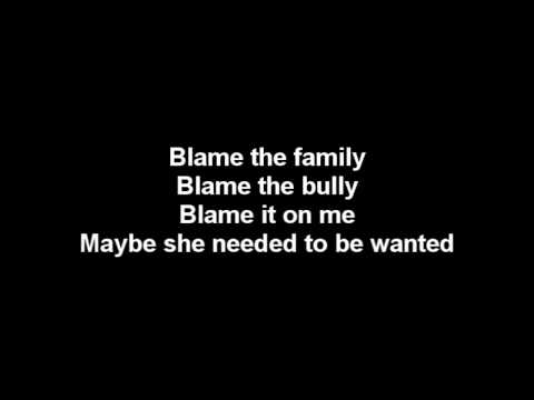 Three Days Grace - Bully lyrics