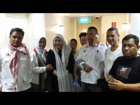 Putri Bung Karno Dan Aktivis Ditangkap Polisi