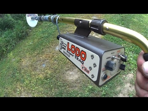 Tesoro Lobo SuperTraq In Depth Metal Detector Test