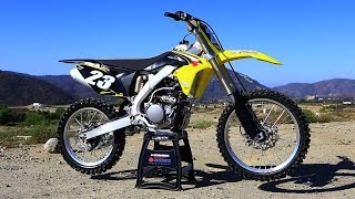 6. First Ride 2016 Suzuki RMZ 250 - Motocross Action Magazine
