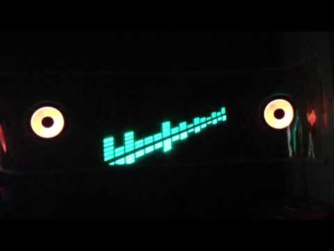 Cm-580 EL equalizer car sound Activated – Video 2: lights o