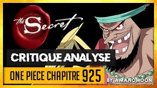 Download Video LES SECRETS DE BARBE NOIRE RÉVÉLÉS ( ou pas ) - Critique analyse chapitre one piece 925 MP3 3GP MP4