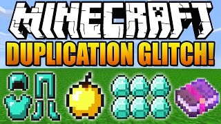 ★ How To Duplicate Items in Minecraft 1.8.3 (Diamonds, Tools) (Duplication Glitch) (Minecraft 1.8)