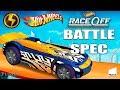 Hot Wheels Race Off New Car Battle Spec