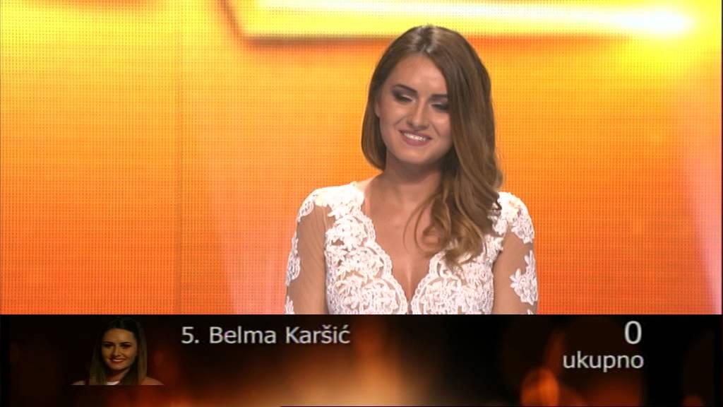 Belma Karsic – Kako da se pomirim sa tim – 43 emisija (20. 06. – polufinale)