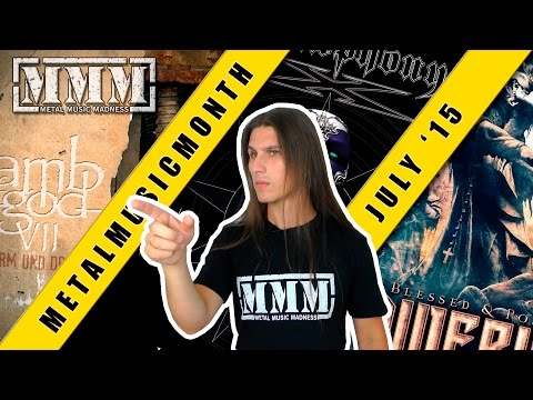 MMMonth - July'15 (Lamb of God, Symphony X, Powerwolf) смотреть онлайн