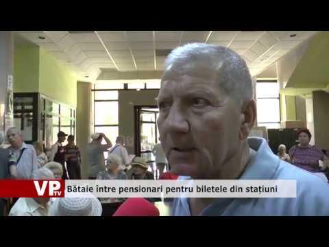 Bătaie între pensionari pentru biletele din stațiuni