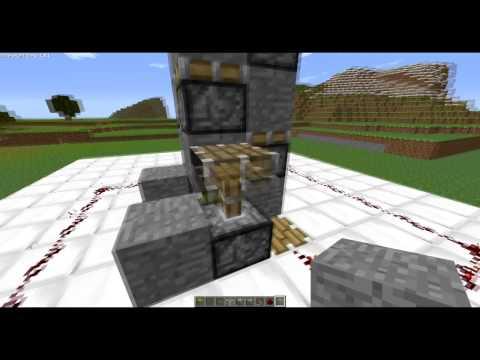 Gradini Di Legno Minecraft : Il meglio di potere minecraft crafting pistoni trappole con