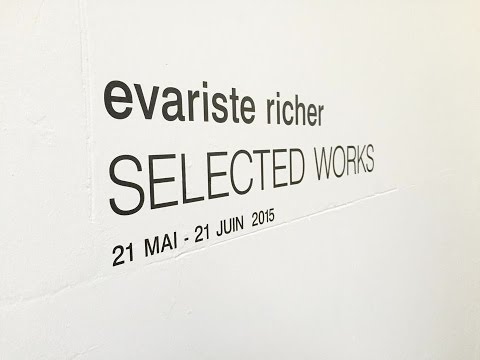 Evariste Richer - Selected works - Untilthen Gallery(2015)