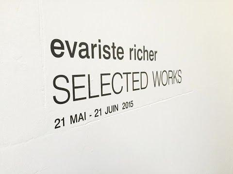 Evariste Richer - Selected works - Untilthen Gallery(2015)
