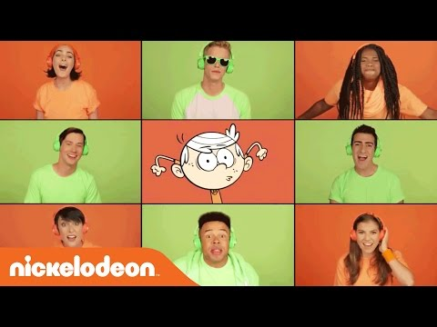 The Loud House & NRDD A Capella Theme Song Mashup by Range | Nick