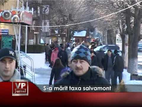 S-a mărit taxa salvamont
