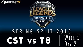 LCS NA Spring 2015 - W5D2 - CST vs T8