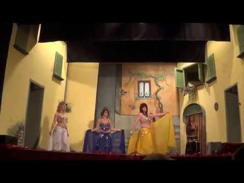 Al teatro San Giuseppe di Sant'Agnello una danza del ventre per beneficenza