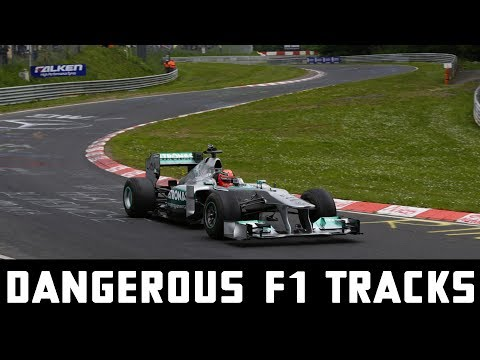 Formula One's Most Dangerous Race Tracks