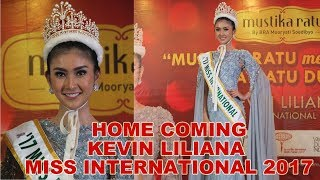 Video Press Conference Home Coming Kevin Liliana Miss International 2017 MP3, 3GP, MP4, WEBM, AVI, FLV Juni 2018