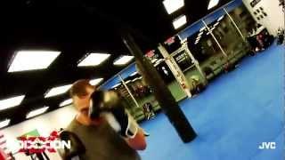 Mixed Martial Arts Captured on JVC Adixxion