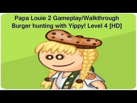 papa louie 2 walkthrough level 4