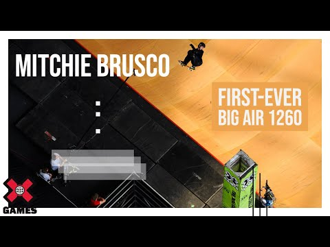 Mitchie Brusco s FirstEver Big Air 1260