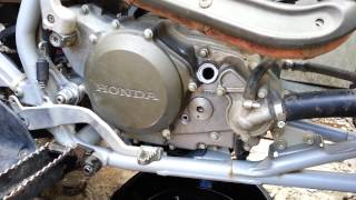 9. 2005 TRX 450R How Change oil and Transmission oil