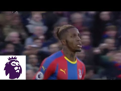 Video: Wilfried Zaha scores to equalize for Crystal Palace against West Ham   Premier League   NBC Sports