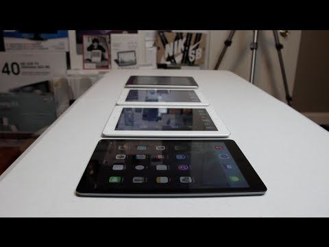 ipads - Here's a look at whats new in the iPad Air compared to all the other models of the iPad! Check out my site! - http://tysiphonehelp.com Buy the iPads: iPad Ai...